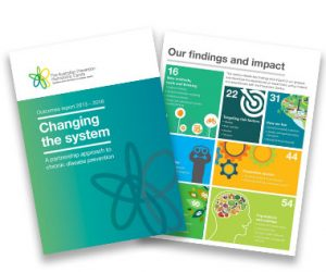 Outcomes Report: Changing the system cover